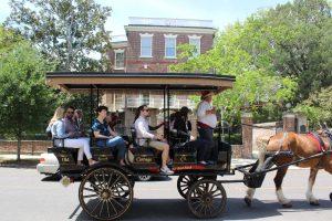 Un tour en calèche à Charleston