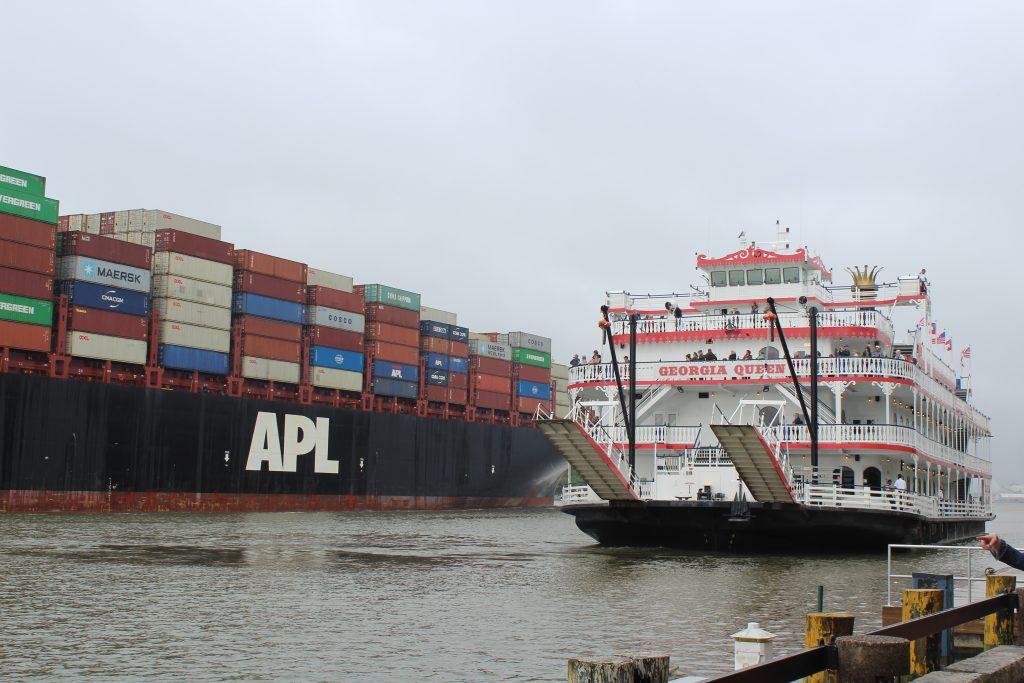 Le port de Savannah entre le moderne et la nostalgie du Sud