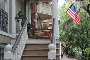 Une maison dans l'une des plus belles rues de Savannah
